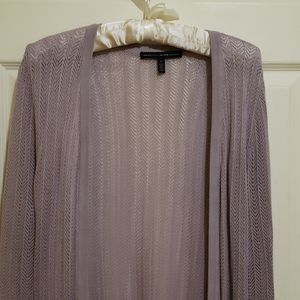 White House Black Market Lilac Small Tunic